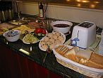 Apartment hotel Budapest - cheap hotels in Budapest - breakfast in Hotel Happy