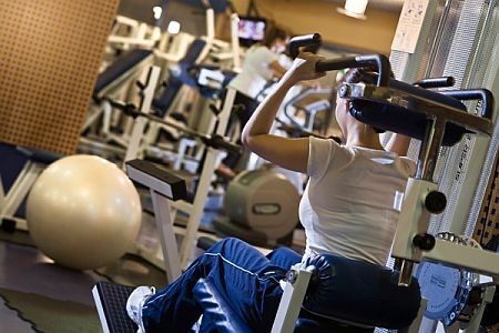 Hotel Arena - Danubius Premier Fitness Club with well-equipped fitness room and aerobic in Budapest