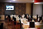 The restaurant of Canada Hotel Budapest is available for events in the IX. district