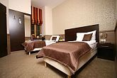 Elegant hotelroom of Central Hotel 21 in the downtown of Budapest
