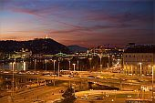 Ibis Styles Budapest City - panoramic view of Gellert hill
